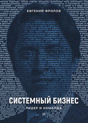 Евгений Фролов. Системный бизнес. Лидер и команда